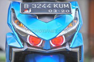 Modifikasi Honda Vario 150 eSP Buat Turing 3