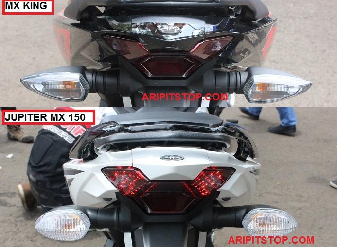 Perbedaan Yamaha Jupiter MX 150 dan X King 150 1