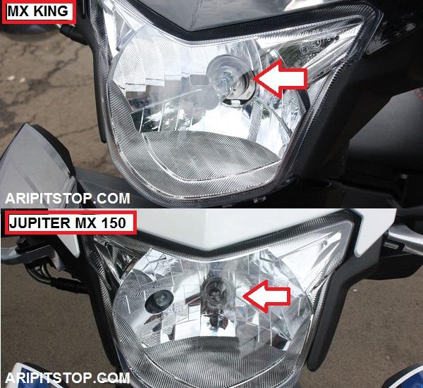 Perbedaan Yamaha Jupiter MX 150 dan X King 150 3