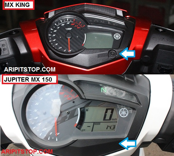 Perbedaan Yamaha Jupiter MX 150 dan X King 150 5