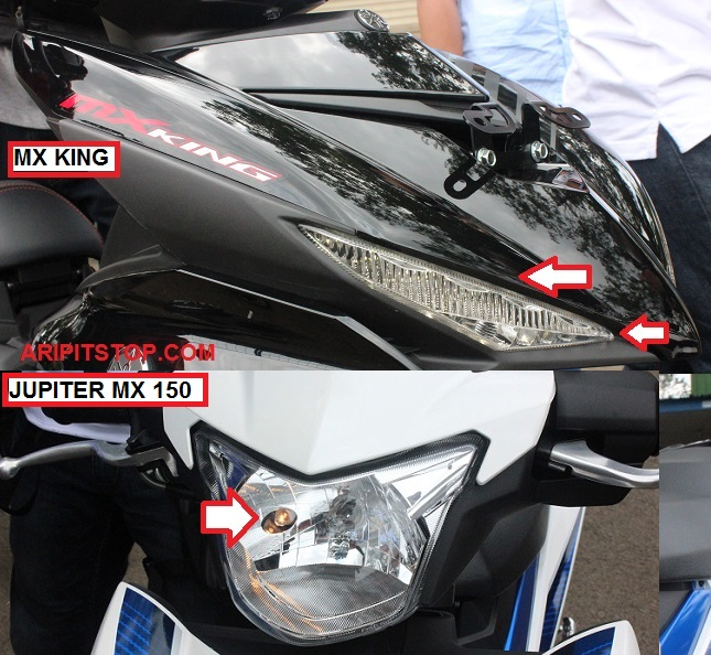 Perbedaan Yamaha Jupiter MX 150 dan X King 150 6