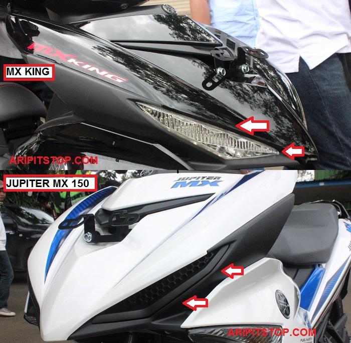 Perbedaan Yamaha Jupiter MX 150 dan X King 150 7