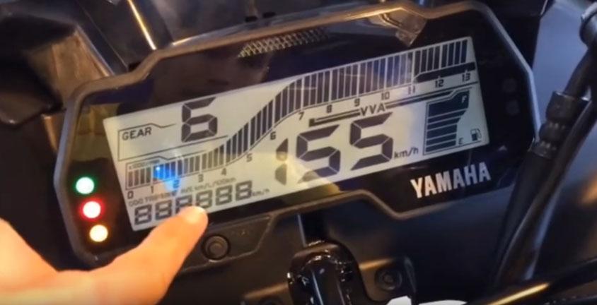 Speedometer yamaha All New R15 Facelift 2017