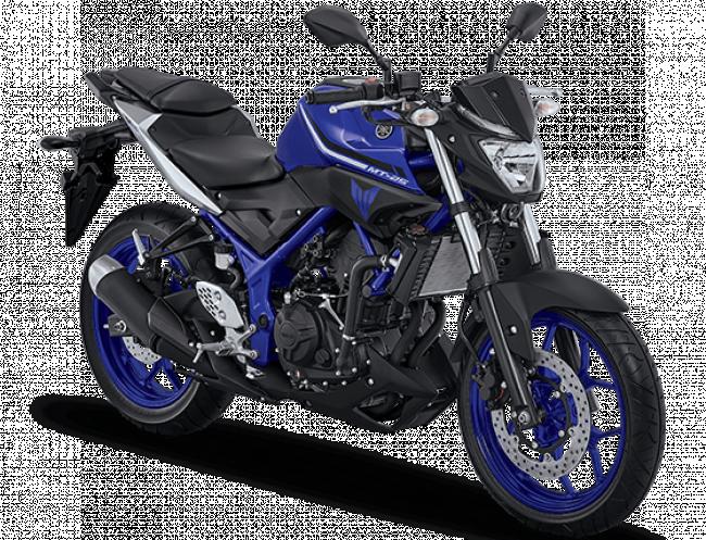 Yamaha MT25 warna Biru Tahun 2017