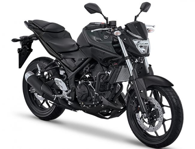 Yamaha MT25 warna Hitam Tahun 2017