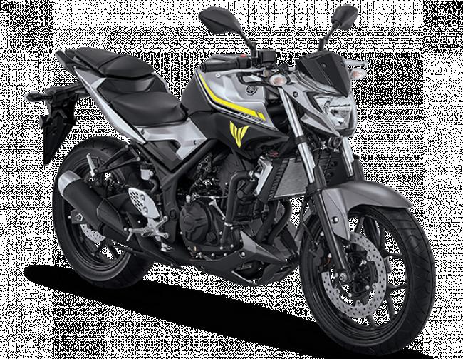 Yamaha MT25 warna Putih Tahun 2017