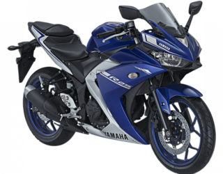 Yamaha R25 Warna Biru Tahun 2017