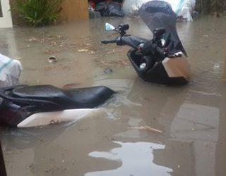 motor terendam banjir