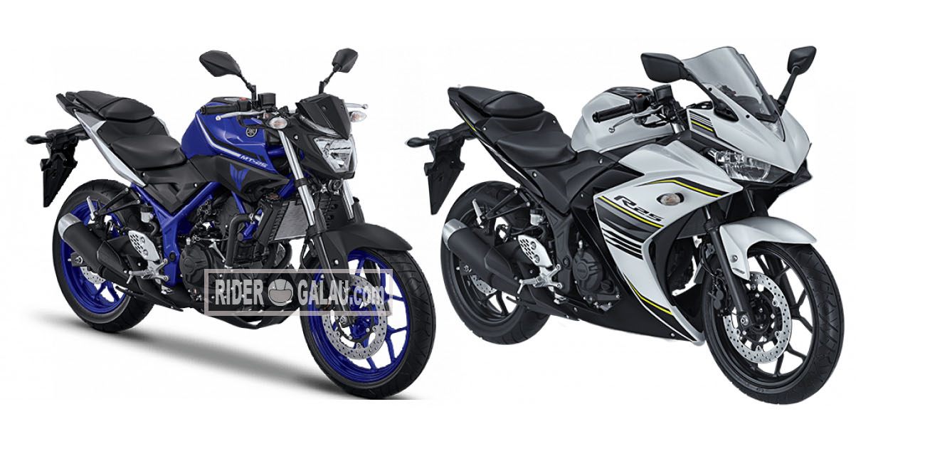 Striping Warna Baru Yamaha R25 Dan MT25 2017