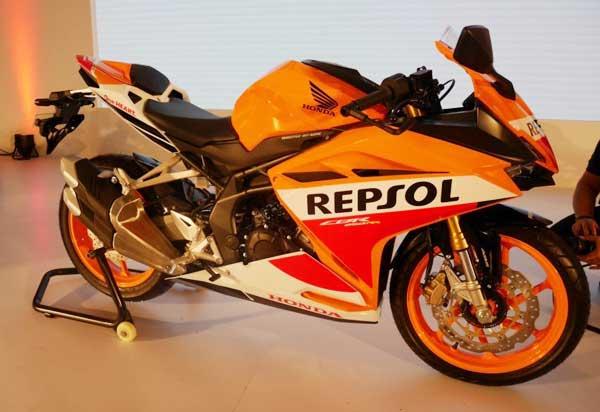 All New CBR250RR Repsol Edition