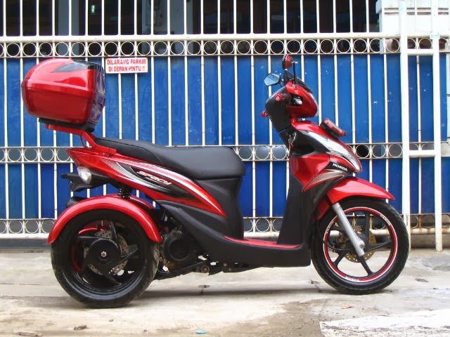 Modifikasi Honda Spacy 3 Roda By OMC 1