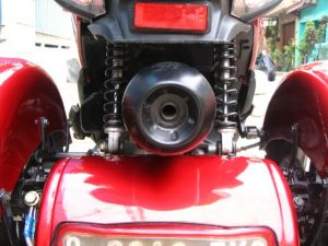 Modifikasi Honda Spacy 3 Roda By OMC 10