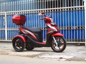 Modifikasi Honda Spacy 3 Roda By OMC 2