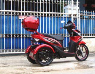 Modifikasi Honda Spacy 3 Roda By OMC 3