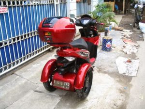 Modifikasi Honda Spacy 3 Roda By OMC 4
