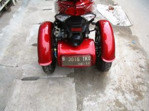 Modifikasi Honda Spacy 3 Roda By OMC 5