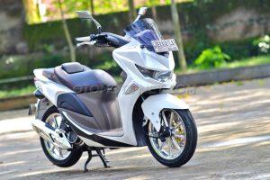 Modifikasi Honda Spacy Ala Nmax 1