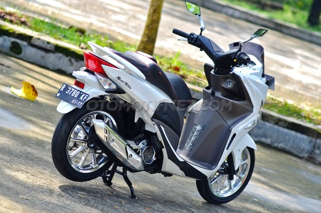 Modifikasi Honda Spacy Ala Nmax 5