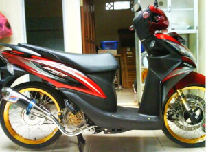 Modifikasi Honda Spacy jari-jari 1
