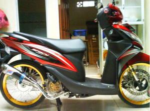 Modifikasi Honda Spacy jari-jari 1