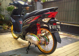Modifikasi Honda Spacy jari-jari 2