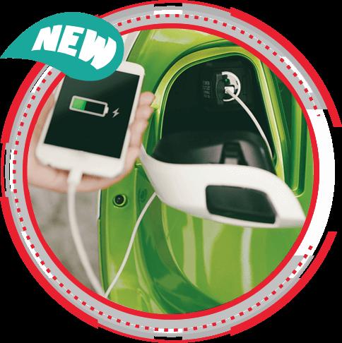 Charger Handphone dalam Console Box