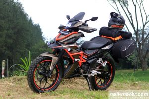 Modifikasi Honda All New Supra GTR 150 Konsep Adventure Touring