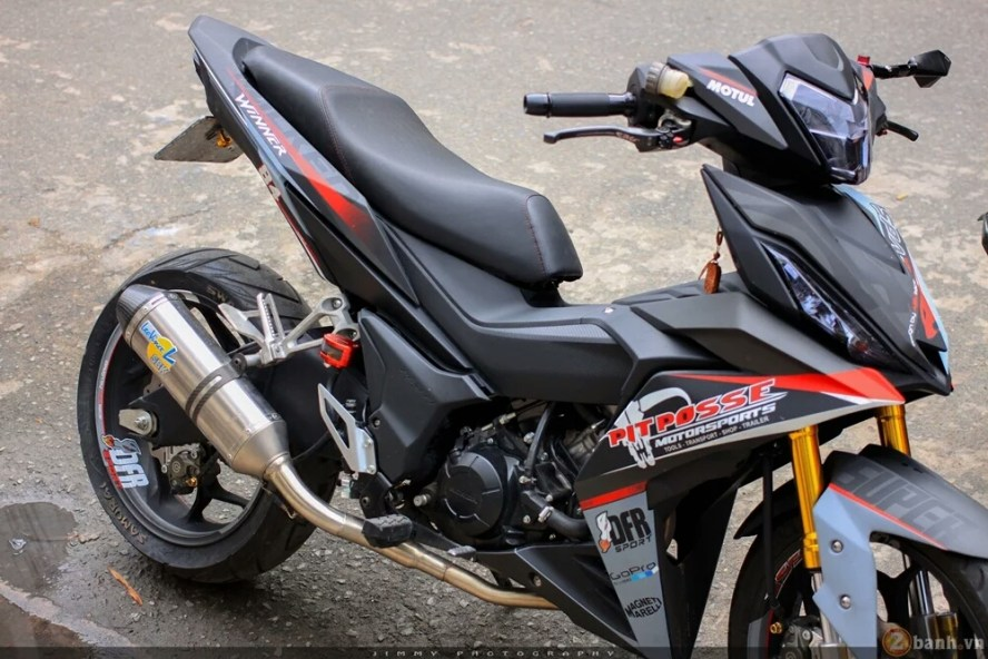 Modifikasi Honda All New Supra GTR 150 Tapak Lebar 2