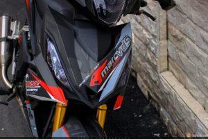 Modifikasi Honda All New Supra GTR 150 Tapak Lebar 4