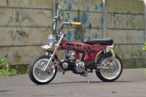 Modifikasi Honda Supra X 125 4