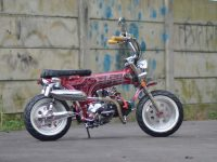 Modifikasi Honda Supra X 125 Custom