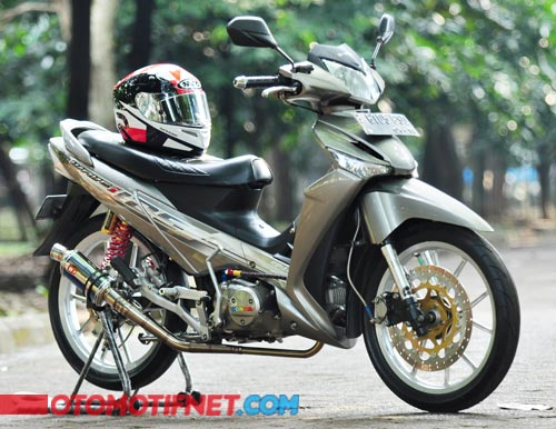 Modifikasi Honda Supra X 125 Racing 1