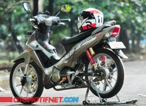 Modifikasi Honda Supra X 125 Racing 2