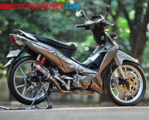 Modifikasi Honda Supra X 125 Racing 4