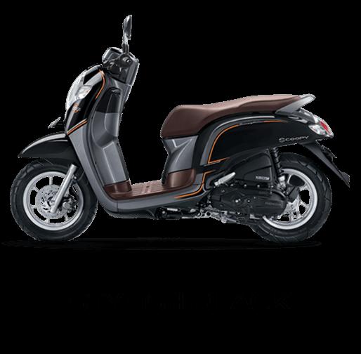 Pilhan Warna All New Honda Scoopy StylishBlack