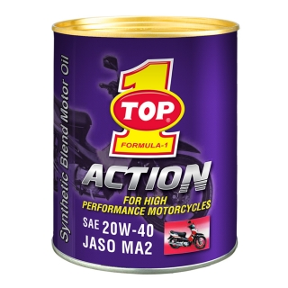TOP 1 ACTION 20W-40 JASO MA2
