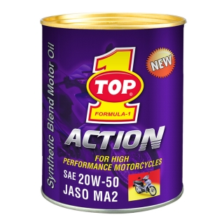 TOP 1 ACTION 20W-50 JASO MA2