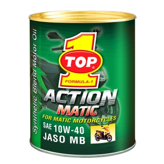 TOP 1 ACTION MATIC 10W-40 JASO MB