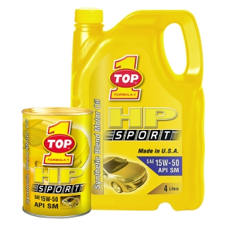 TOP 1 HP SPORT 15W-50 API SM
