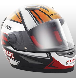 Helm Design Repsol