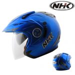 NHK Aviator Solid Blue metal