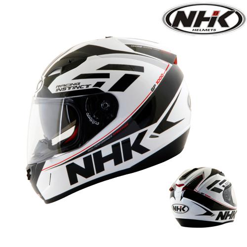 NHK GP1000 Instinct White Black