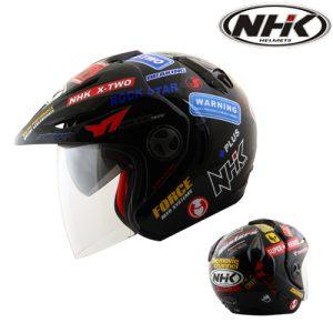 NHK X2 Sticker Black