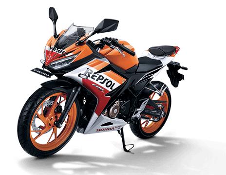 Pilihan warna dan Striping Honda All New CBR150R 2017 Repsol