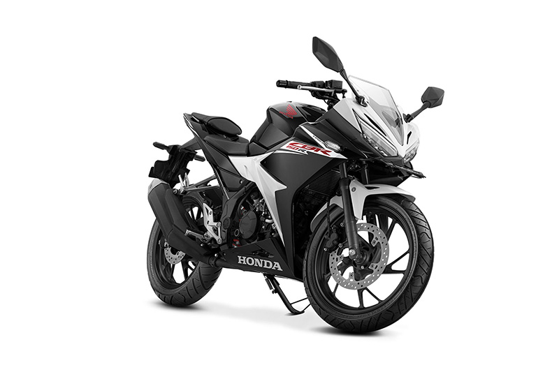 Pilihan warna dan Striping Honda All New CBR150R Putih