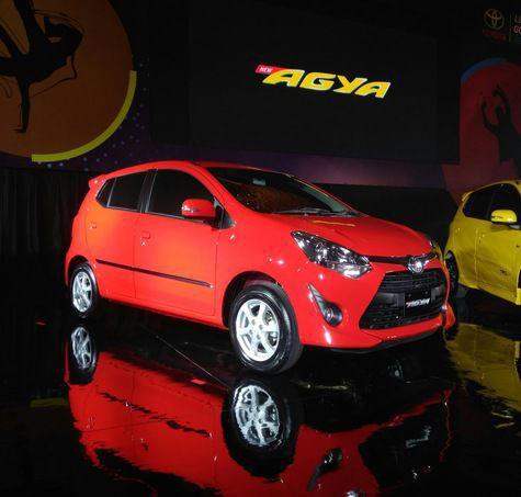 Toyota Agya facelift 1