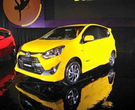 Toyota Agya facelift 2