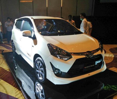 Toyota Agya facelift 3