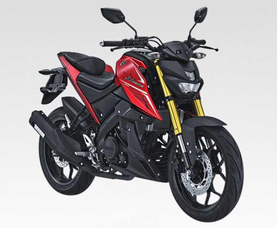 Warna dan Striping Yamaha Xabre Tahun 2017 Merah