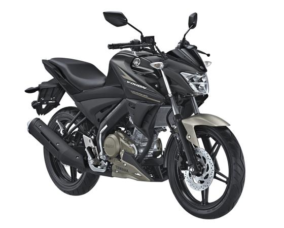 Yamaha All New Vixion Facelift Tipe Reguler Matt Black Hitam